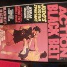 VINTAGE ACTION BLACK BELT NOVEMBER , 1974 NEW SPORT OF KICKFIGHTING