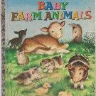 baby farm animals [ little golden book]