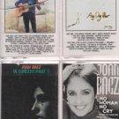 JOAN BAEZ MUSIC CASSETTE LOT (4)
