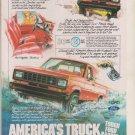 Ford Ranger Pickup Truck 4x4  Magazine Print Ad