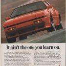 1988 Mitsubishi STARION advertisement, MITSUBISHI Starion ESI-R