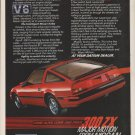 Nissan 300ZX - technology - Classic Vintage Car Advertisement Ad