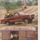 1984 Ford Ranger Ad Advertisement Vintage