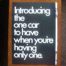 1985 Volkswagen VW Golf Hatchback Family Car 3 Page Magazine Ad