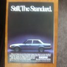 1985 Honda Accord 4-door Sedan - Classic Vintage Advertisement Ad