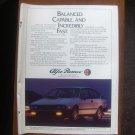 1985 Alfa Romeo GTV-6 - Balanced - Classic Vintage Advertisement Ad