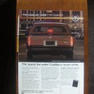 1985 CADILLAC advertisement, Cadillac Fleetwood with new 3rd brake light