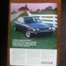 1985 JAGUAR XJ6 advertisement, Jaguar XJ 6, fancy horse stable