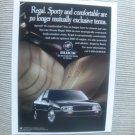 Buick Regal 1995 Vintage Magazine Print Ad ($2.99)