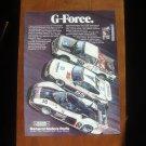 1987 General Motors Parts - G-Force - Classic Vintage Advertisement Ad