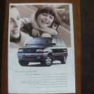 mazda mpv all sport vintage magazine advertisement