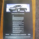 infiniti 130 vintage magazine advertisement