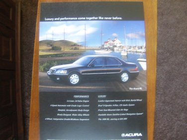 1999 Acura RL - Dock - Classic Vintage Advertisement