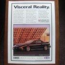 1997 Pontiac Firebird TransAm Iroc NHRA Race Vintage Car Advertisement Ad