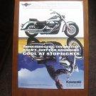 1997 Kawasaki Vulcan - spotlights - Motorcycle Vintage Advertisement Ad