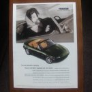 MAZDA MIATA M EDITION ORIGINAL VINTAGE AD ADVERTISEMENT