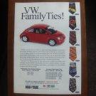 VW FAMILY TIES MAGAZINE AD