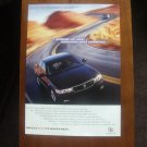 Cadillac Seville STS vs. Competitor Print Ad 1999