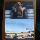 1995 cute Golden Retriever photo GMC Yukon Truck vintage print Ad