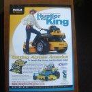 Richard Petty Hustler Turf Equipment print magazine advertisement
