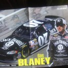Nascar Dave Blaney Jack Daniels Print Magazine Poster