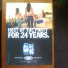 Busch Beer Host of the Party for 24 Years Magazine Print Advertisement