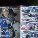 Nascar Mark Martin Magazine Print Advertisement Poster