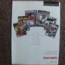 Street & Smith's Sports Annuals Magazine Advertisement (rare)