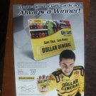 Dollar General Gift Cards Magazine Print Advertisement Burney Lamar
