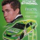 2005 Garnier Fructis Magazine Print Advertisement-Brian Vickers