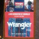 Dale Earnhardt Jr  Car Wrangler Jeans Magazine Print Advertisement Page