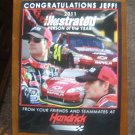Jeff Gordon Person of the Year Magazine Print Advertisement