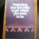 Mitsubishi Vintage magazine advertisement