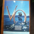 Seagram's V.O. Canadian whisky Vintage Magazine Ad Print