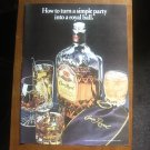 Crown Royal Magazine vintage advertisement