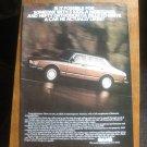 Vintage Magazine Advertisement Saab