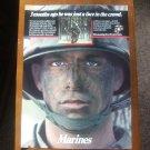 U. S. Marines Vintage Magazine Advertisement