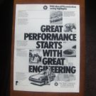 chrysler great performance vintage magazine advertisement
