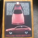 Vintage 1984 Isuzu Impulse Car Magazine Magazine Print Advertisement