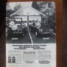 1980 Subaru Brat bw truck Classic Advertisement Ad