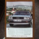 1983 Audi 5000 Turbo Diesel Sedan - Original Car Advertisement Print Ad