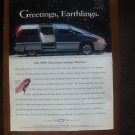 1995 Chevrolet Lumina minivan Van - Classic Vintage Advertisement Ad