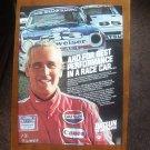 "1980 Paul Newman as Race Driver photo ""Best Performance"" Datsun 280-ZX print ad"