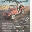 1978 Jeep CJ Truck Magazine Advertisement