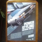 1982 Datsun Ad Datsun 200 SX Ad-Power Styling