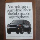 1995 1994 Honda Passport - Original Car Advertisement Print Ad