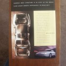 1995 Original AD: Aurora by Oldsmobile Luxury Sedan Cutaway Body Structure