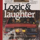 1988 Chevrolet S 10 Blazer Ad-8.5 x 10.5 ''-Logic & Laughter-S 10 Blazer 4 x 4