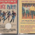 Country Dance Party & Country Line Dance Jubilee Cassettes