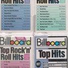 Billboard Top Hits Cassette Lot (55-56-57-77)